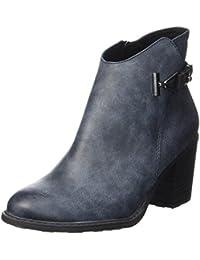 Amazon.it  tronchetti donna - Blu   Stivali   Scarpe da donna ... a1350d15aae