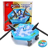 Wishtime cubi Mini Tavolo Kids Balance Ice Puzzle Save Penguin Icebreaker Beating Interactive Games