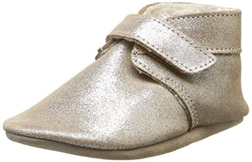 Robeez Baby Mädchen Pole Nord Krabbel- & Hausschuhe, Gold (bronze fur 19), 21/22 EU - Bronze 19