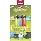 Efectos DMC DMC 16152 Luz Floss Pack 6-Pkg-fluorescente