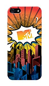 MTV Gone Case Mobile Cover for Apple Iphone SE