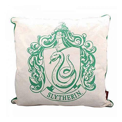 Harry Potter - Kissen - Slytherin Wappen Logo - 46 x 46 cm