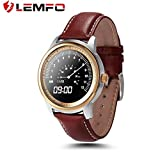LEMFO LEM1 Pedometro Bluetooth Orologio da polso Sync Rubrica per iOS per Android - Best Reviews Guide