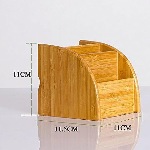 eimolife naturale Vintage desktop in legno organizzatore