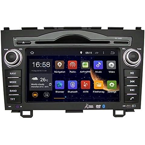 Generic7cm Lettore DVD da auto per Honda CRV 200620072008200920102011con navigazione gps lettore DVD multimediale