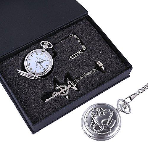Fullmetal Alchemist Edward Elric Taschenuhr Cosplay Set (Cosplay Shop Uk)