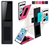 Gionee P5w Hülle in Pink - innovative 4 in 1 Handyhülle -
