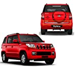 #10: Auto Pearl - Premium Quality Rear Trunk Dicky Chrome Trim/Garnish For - Mahindra TUV 300