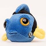 Paletten-Doktorfisch MISS DORIE 16 cm Plüschfisch Plüschtier Plüschtier von kuscheltiere.biz