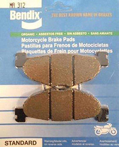 Pastiglie freno per Yamaha Majesty 400 cc 2004 ha 2006 MA312 stato nuovo-Pastiglia freni MA 312 Bendix