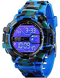 Driton Digital Multicolor Dial Sports Watch for Boy's & Men's