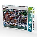 Bergen, Norwegen 1000 Teile Puzzle quer (CALVENDO Orte)