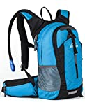 RUPUMPACK Lightweight Daypack Hydration Backpack & 2.5L Bladder, Cooler Bag Keep Liquid Cool Up To 4 Hours, Perfect For Running Cycling Hiking Fishing School Commuter, 18L ...