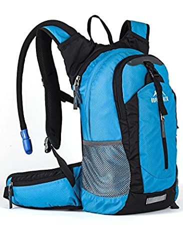 Insulated Hydration Backpack Pack with 2.5L BPA FREE Bladder -