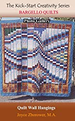 Bargello Quilts Photo Gallery -- Updated: Contemporary quilt wall hangings displayed as pictures of quilts (Crafts Series Book 5) (English Edition)