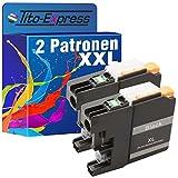 PlatinumSerie® 2 Tinten-Patrone XXL kompatibel für Brother LC223 LC227 Black MFC-J 5620 DW MFC-J 5625 DW MFC-J 5720 DW