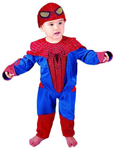 Kostüm Spiderman Amazing 4 für Baby, Grösse 92