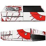 Microsoft Xbox One Folie Skin Sticker aus Vinyl-Folie Aufkleber Albert Einstein Zeichnung Art