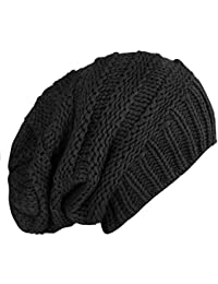 caripe warme Winter Damen Herren Mütze Long Beanie Strickmütze - Snö