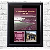 West Ham United Upton Park Boleyn Ground Mounted Photo Display Collectable