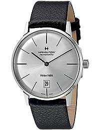Hamilton H38455751 - Reloj para hombres, correa de cuero color marrón