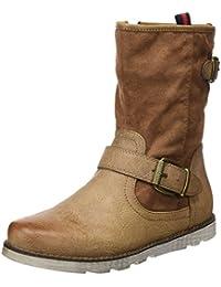 REFRESH Botin Sra. C. Combinado Marrón - Botas para mujer, color marrón, talla 38