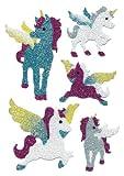 Sticker Herma MAGIC, Einhörner, Diamond glittery, PG/1Bl