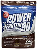 Body Attack, Power Protein 90, Chocolate Nut-Nougat Cream, 1er Pack (1x 500g)