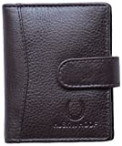 #5: Husk N Hoof Leather Brown Card Holder