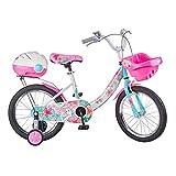 Bici per bambini Bambini E Ragazze Principessa Bicicletta Impara A velocità Variabile Bicicletta Gioventù Mountain Bike Pneumatici in Gomma per Afferrare Il Terreno Sicuro Regalo Perfetto