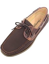 Para hombre Smart/casual/verano Lace Up Zapatos de barco/cubierta/hombre