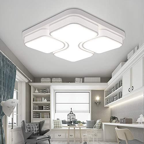 MYHOO 48W Kaltweiß LED Deckenleuchte Design LED Deckenlampe Wohnzimmer Lampe Schlafzimmer Küche Leuchte[Energieklasse A++] - Energy-star-wand-beleuchtung