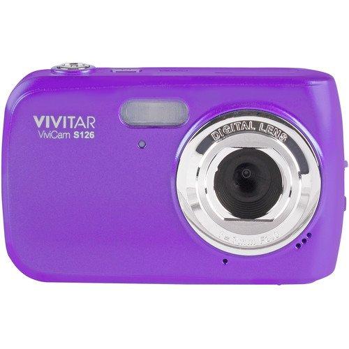 Digitale Kompaktkamera Vivitar F126 mit 14 Megapixeln fur hochauflosende Bilder (14 MP, 4-facher Zoom, 1,8