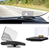Head Up Display Auto Handy - Display Reflektor Handy - Samsung / iPhone / Huawei - Olixar Universal HUD