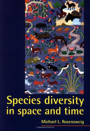 Species Diversity in Space and Time Paperback