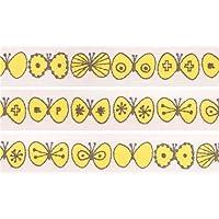 Nastro coprente mt Washi decorativo farfalle gialle