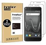 iVoler [Pack de 2] Verre Trempé Wiko Harry/Wiko Kenny 4G, Film Protection en Verre trempé écran Protecteur vitre