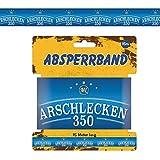 Absperrband Arschlecken 350, aus Kunststoff, 7,5 cm breit, 15 m lang