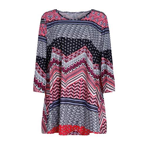 CAOQAO Damen Mode Plus Size Glittery Mesh V-Ausschnitt Sparkly Pailletten T-Shirt Tops Bluse Lose Mode BeiläUfig ()