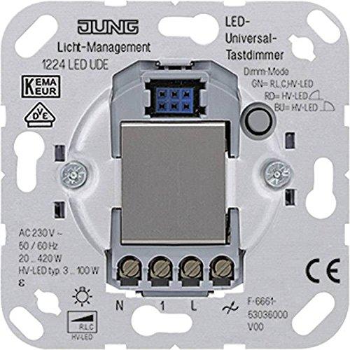 07 N/a Ersatz (Jung 1224 UDE LED-Universal-Tastdimmer, 1 Stück)