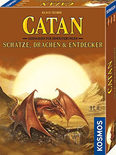 Die Siedler von Catan – Szenarien für Erweiterungen – Schätze Drachen und Entdecker