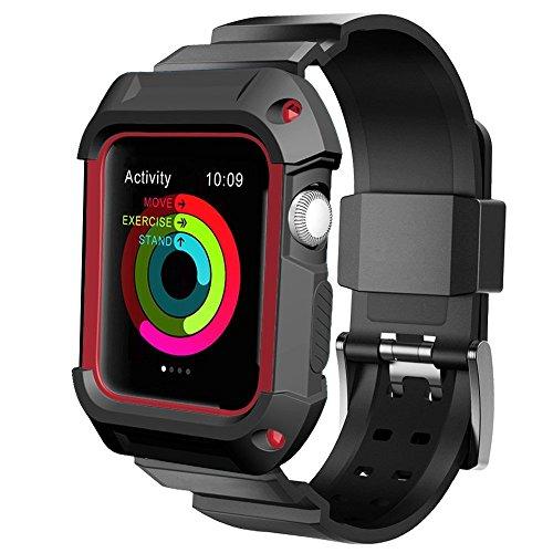 UMTELE Apple Watch Custodia protettiva, Resistente ai graffi e agli