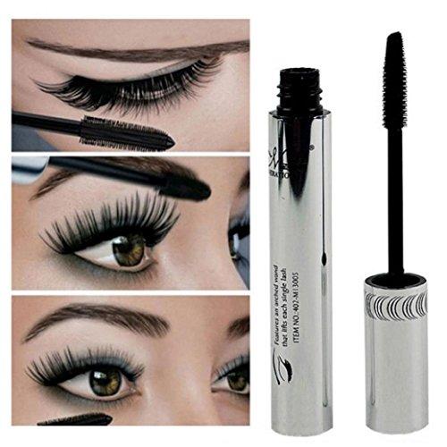 LHWY 2017 de haute qualité Cils Maquillage imperméable longue Cils Noir Silicone Brush Head Mascara