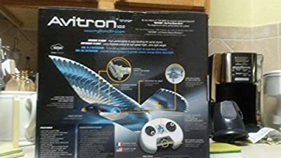 "Bionicbird ""Avitron v2.0 The Controllable Flying Bird"" Electronic Toy"