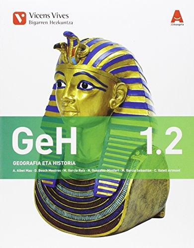 GEH 1 (1.1-1.2) GEOGRAFIA ETA HISTORIA 3D IKASGELA: 000002 - 9788468232478