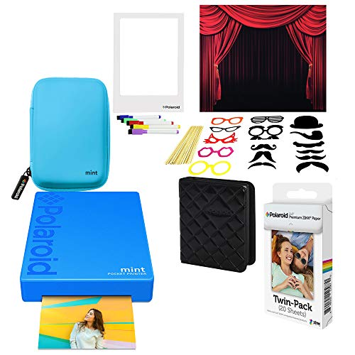 rer Fotodrucker (Blau) Photo Booth Kit ()