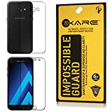 iKare Impossible Front and Back Fiber Tempered Glass Screen Protector for Samsung Galaxy A5 2017 Edition