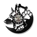 JGcabin Horloge Murale De Disque Vinyle Super Multi-Style De 12 Pouces, Cadeau pour...
