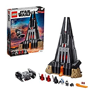 LEGO- 75251 Star Wars Darth Vader Castle Playset, Tie Fighter Toy and 5 Minifigures (Exclusive to Amazon & Lego) Juguete