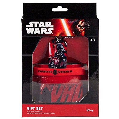 Disney 2500000580Armband und Halsketten mit dem Bild der Helden aus Star Wars